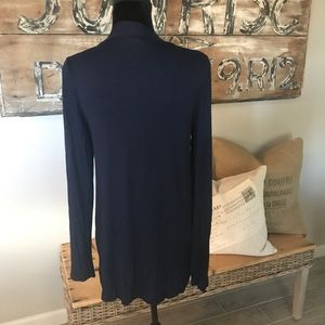 Zanana Outfitters Sweaters - 🏝NWOT open cardigan navy
