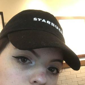 4a7519dc956a6 starbucks Accessories - starbucks barista black dad hat