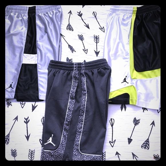 4bd693b5896e ... official store bundle of 3 air jordan boys basketball shorts c7223 bf53b