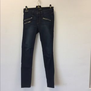 Black Orchid Denim Billie Zipper Skinny Jeans 25