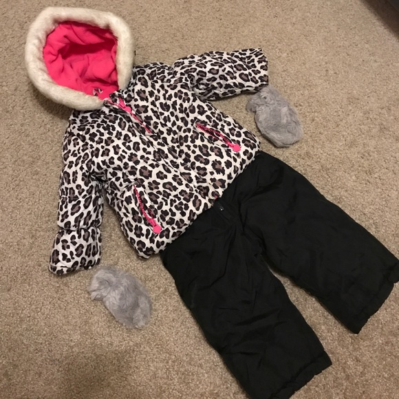 87e103adf Carter's Jackets & Coats | Adorable Carters Pink And Leopard Print ...