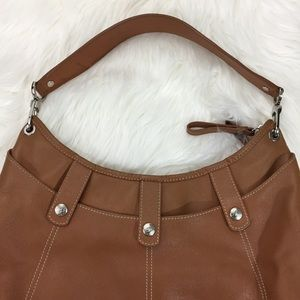 e508572f05f7 Longchamp Bags - Authentic Longchamp Leather Hobo Bag Caramel Tan