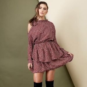 Morrisday The Label Audrey Ruffle Dress Size Small