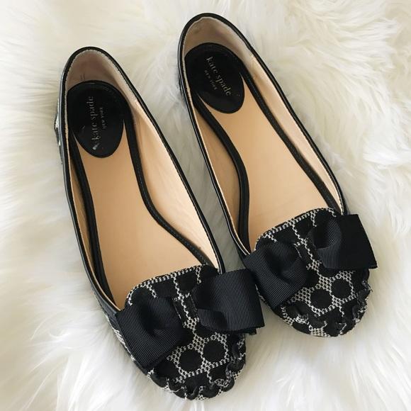 76f6946b7f4 kate spade Shoes - Kate ♤ Spade Polka Dot Bow Flats