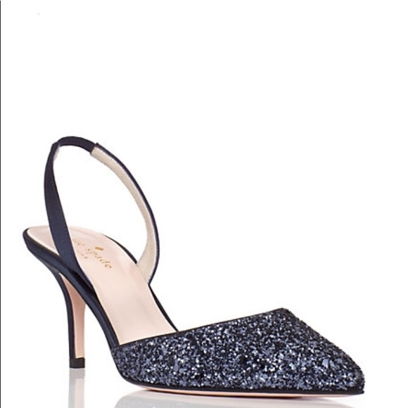 e4f1b1ea7 kate spade Shoes - KATE SPADE Jeanette Glitter Pointed Toe Heels NEW