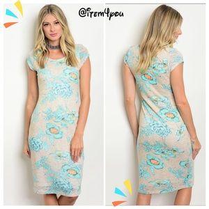 Dresses & Skirts - LAST 1 S Size 💠Taupe Aqua Dress💠