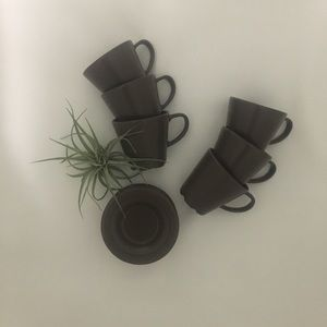 Other - SOLD Set of 6 IKEA cups and saucers