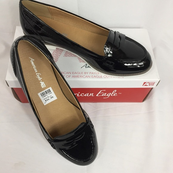 cb72c4a730e American Eagle for Payless Patent Penny Loafer 7.5