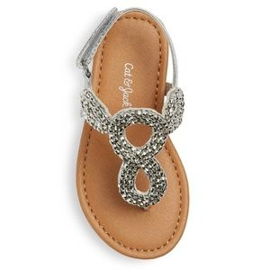 Other - Cat & Jack Beaded Thong Sandals