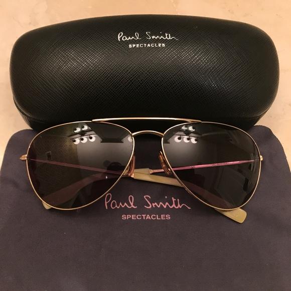 2a247b831e Paul Smith Aviator Glasses Gold Frame