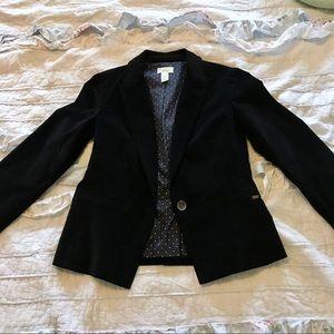 New Levi's Blazer Jacket Black Sz M
