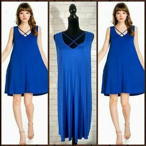 Dresses & Skirts - 🌟🌟Plus Size Sleeveless Criss-Cross Dress🌟🌟