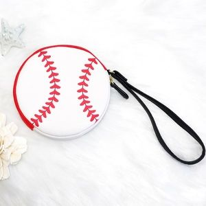 Handbags - BETSEY JOHNSON SOFTBALL COIN PURSE