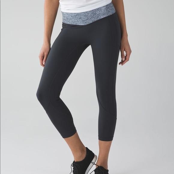 84175fe6816e6 lululemon athletica Pants - 🍋 Lululemon All The Right Places Crop- Deep  Coal