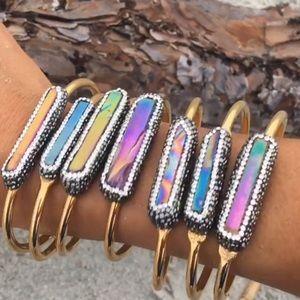 Jewelry - 🖤🦄 Unicorn Druzy Cuffs!!- 2 Left!!