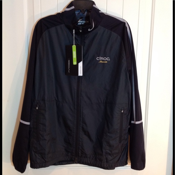 new authentic best good looking New Nike Golf Full Zip Wind Jacket. Ciroc Logo Lg