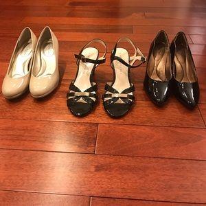 💋bundle! three pairs of heels