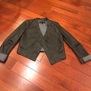 💋stunning bcbg leather jacket