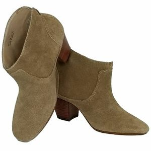 H by Hudson Suede Booties