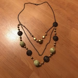 Three layer necklace ~ never worn