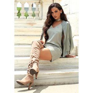 Carli Bybel x Missguided Silky Cami Dress