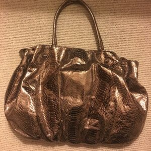 Handbags - Leather Carlos Falchi handbag