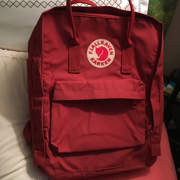 Fjällräven Kånken Backpack Deep Red