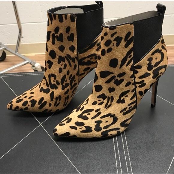 Charles David Shoes | Leopard Calf