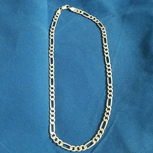 Other - Made in Italy sterling silver Figaro chain
