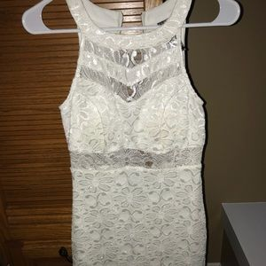 Dresses & Skirts - White Lace Bodycon