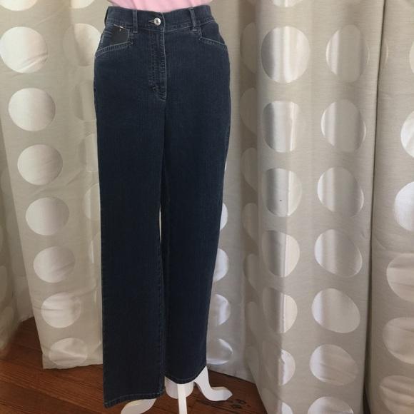 indigo straight leg jeans womens