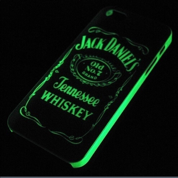 the best attitude f5d7e fda83 Glow In Dark iPhone 7 Jack Daniels case Boutique