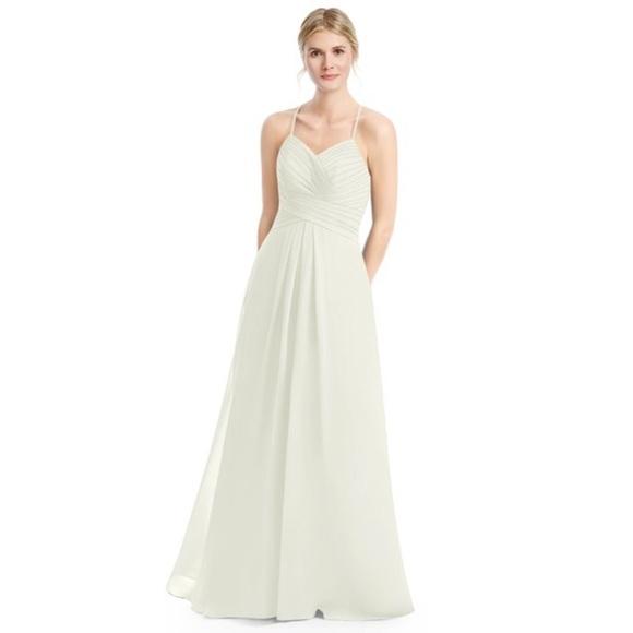 aeffb57490 azazie Dresses   Skirts - AZAZIE HALEIGH BRIDESMAID DRESS FROST