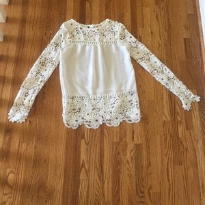 White long sleeve shirt size medium!