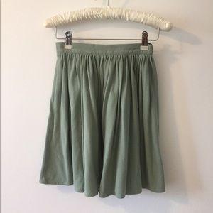 AA Mint Skater Skirt