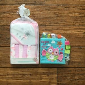 Other - NWT Baby Gift Set Towels And Book