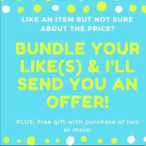 Bundle your likes and I'll shoot u a offer