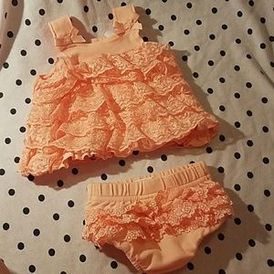 Other - Starting out dress with ruffle butt bloomers