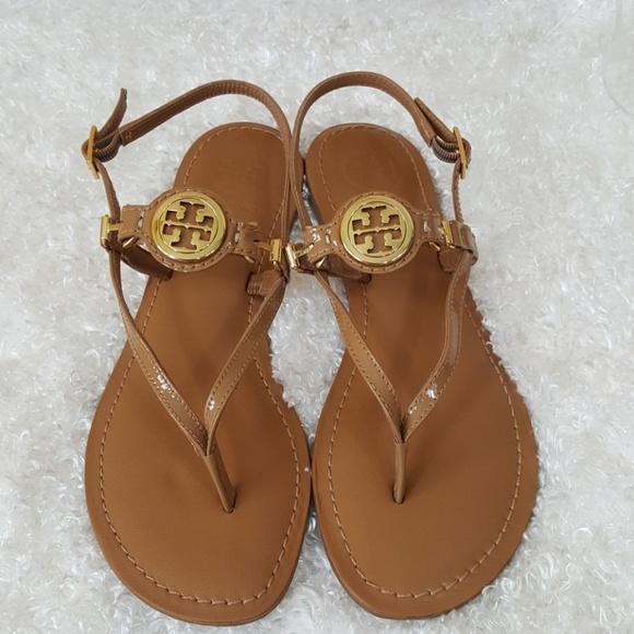 0c074e8fa88146 Tory Burch Ali Sandal patent leather