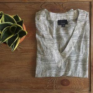 Tops - Sheer Zebra Blouse