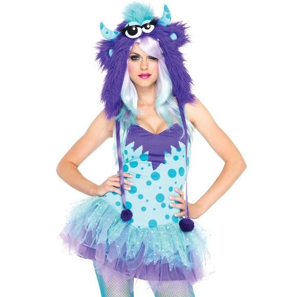 Sexy Furry Monster Costume EDM EDC RAVE Hat Dress  sc 1 st  Poshmark & Leg Avenue Dresses | Sexy Furry Monster Costume Edm Edc Rave Hat ...