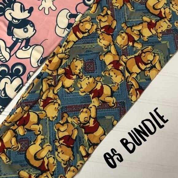 b4441965fd0b56 LuLaRoe Pants | Nwt Disney Cute Winnie The Pooh Os Leggings | Poshmark