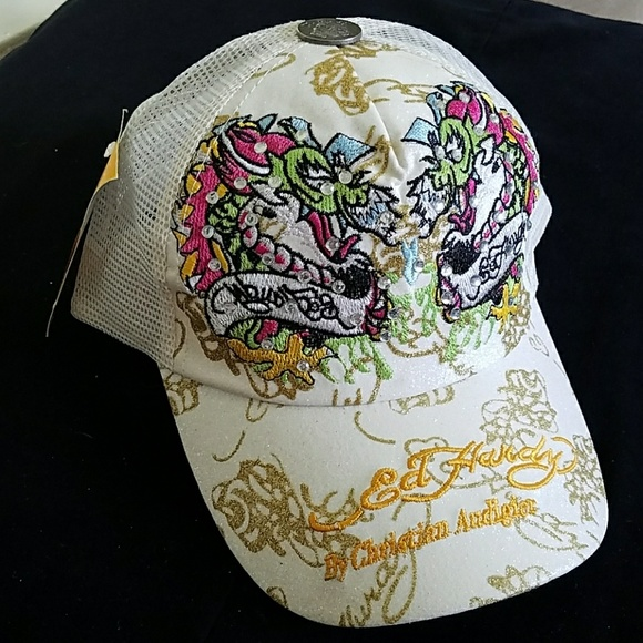 4e1445ee0af6 🎁NEW Ed Hardy by Christian Audigier hats