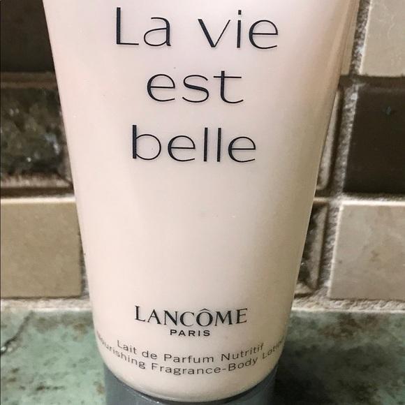 Lancome Other Lancme Lait De Parfum Nutritif Body Lotion Poshmark