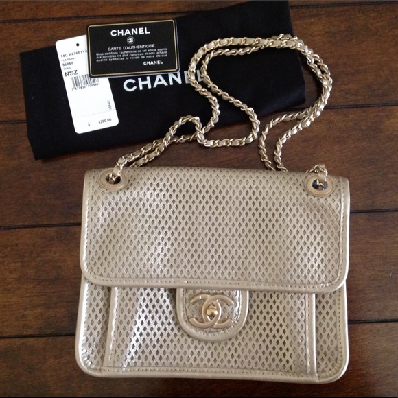 4db1f313c49c41 CHANEL Bags | Perforated Up In The Air Bag | Poshmark