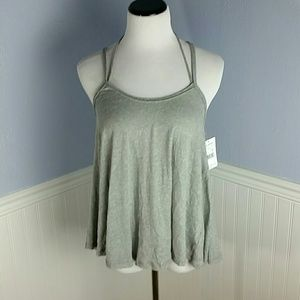 Free People So in Love with You Strappy Tank