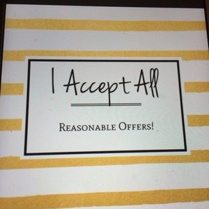 Other - Please Read -- Reasonable Offers Only Please
