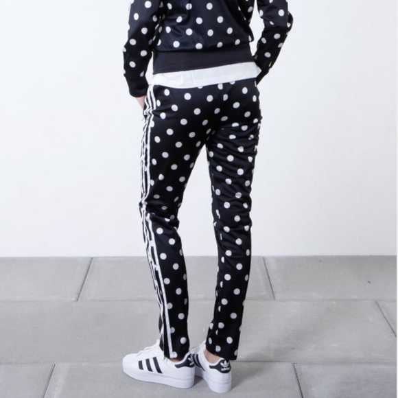1f44d048ea67 adidas Originals Supergirl Polka Dot Track Pants