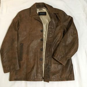 Men's Whet Blu leather jacket