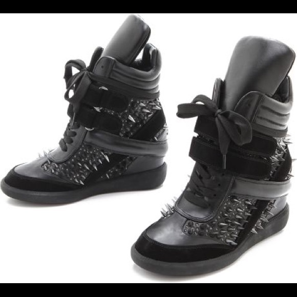 clearance excellent Monika Chiang Wedge High-Top Sneakers cheap lowest price VuHXzRev